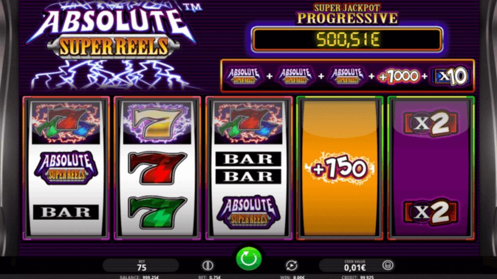 Absolute Super Reels spilleautomat