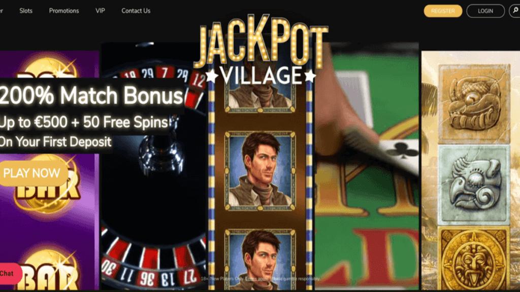 JackpotVillage anmeldelse casino anmeldelse