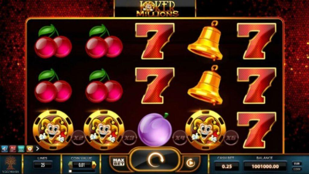 Joker Millions spilleautomat