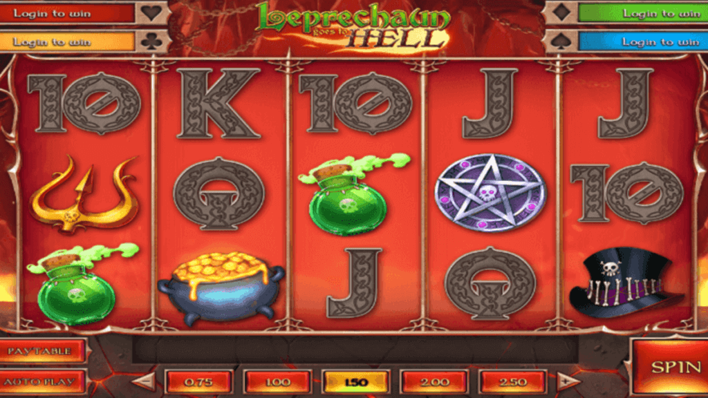 Leprechaun goes to Hell spilleautomat