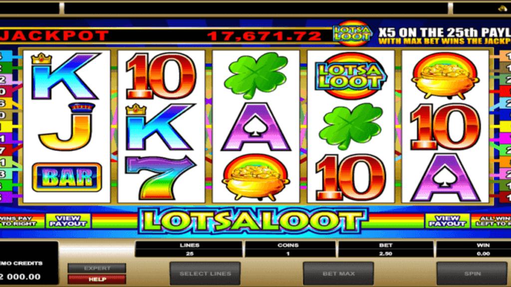 LotsaLoot 5 Reel spilleautomat