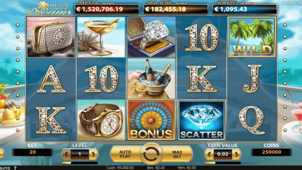 Mega Fortune Dreams spilleautomat