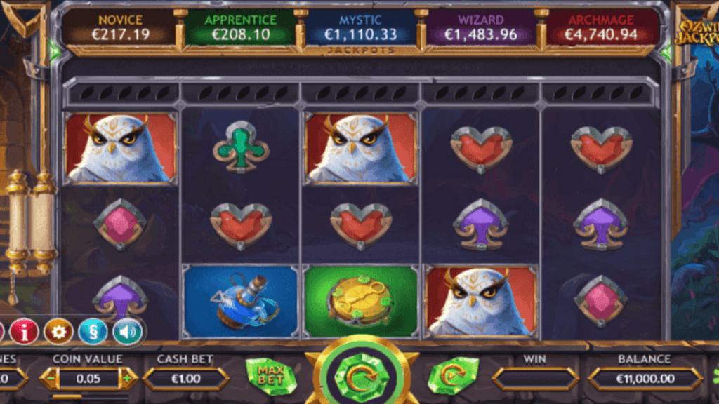 Ozwin's Jackpots spilleautomat