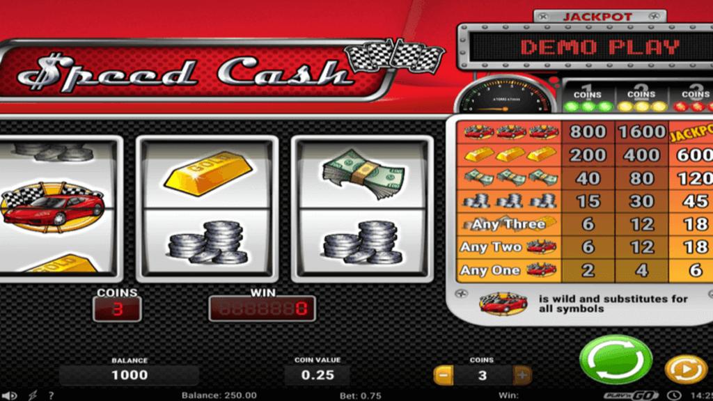 Speed Cash spilleautomat