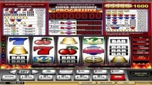 Super Multitimes Progressive Slot