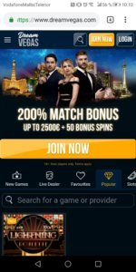 DreamVegas Mobile Casino dream vegas mobile casino