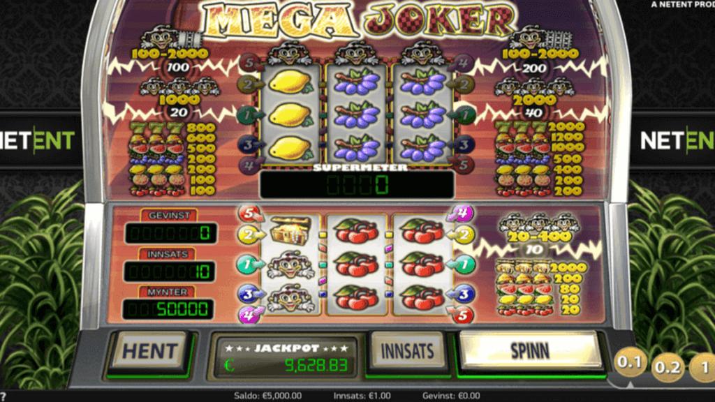 Mega Joker spilleautomat