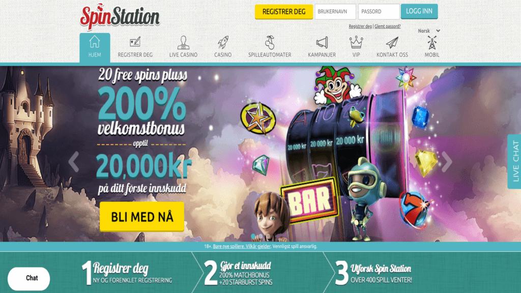 SpinStation anmeldelse