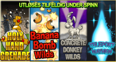 worms reloaded Random Slot Features