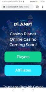 Casino Planet mobilcasino mobile casino